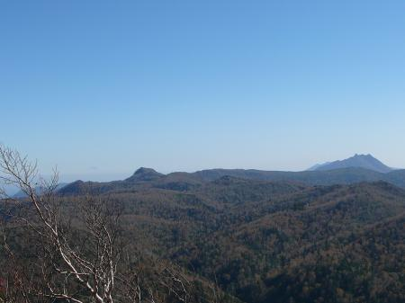 恵庭岳、空沼岳方向