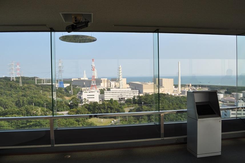 浜岡原発 展望台
