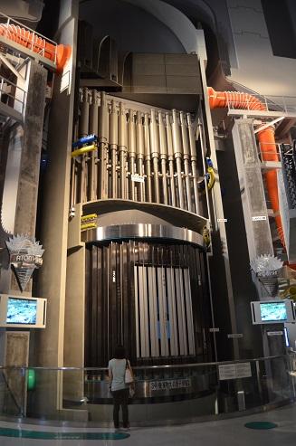 浜岡原発 原子炉模型