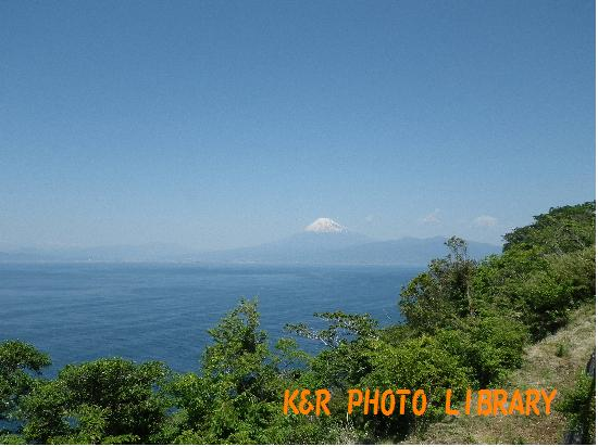 出逢い岬からの富士山