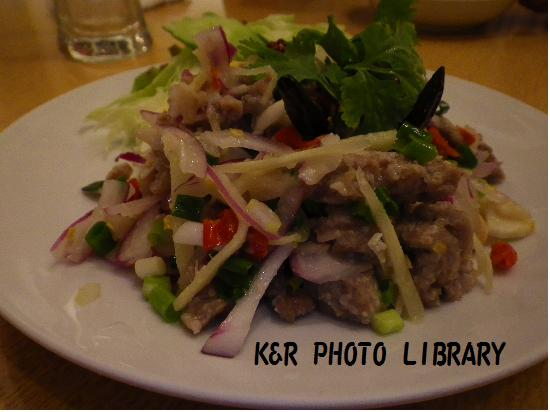タイサラミのサラダ