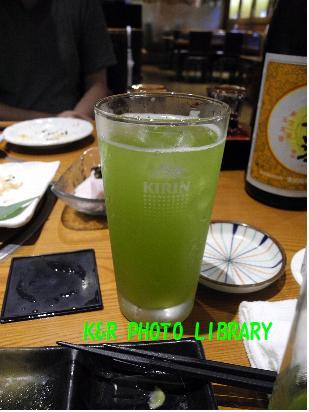 酎ハイ緑茶割