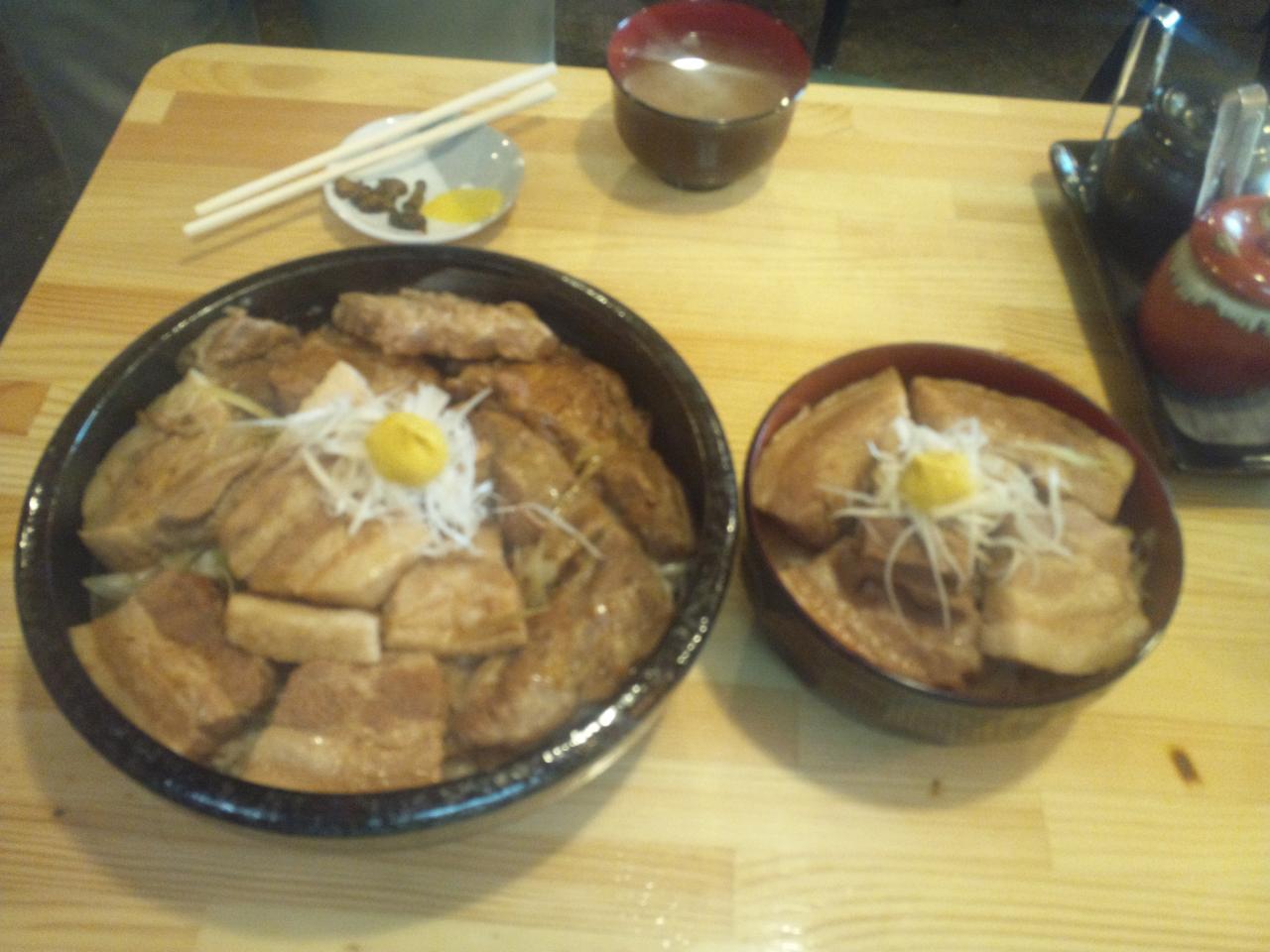 和亭(角煮丼)