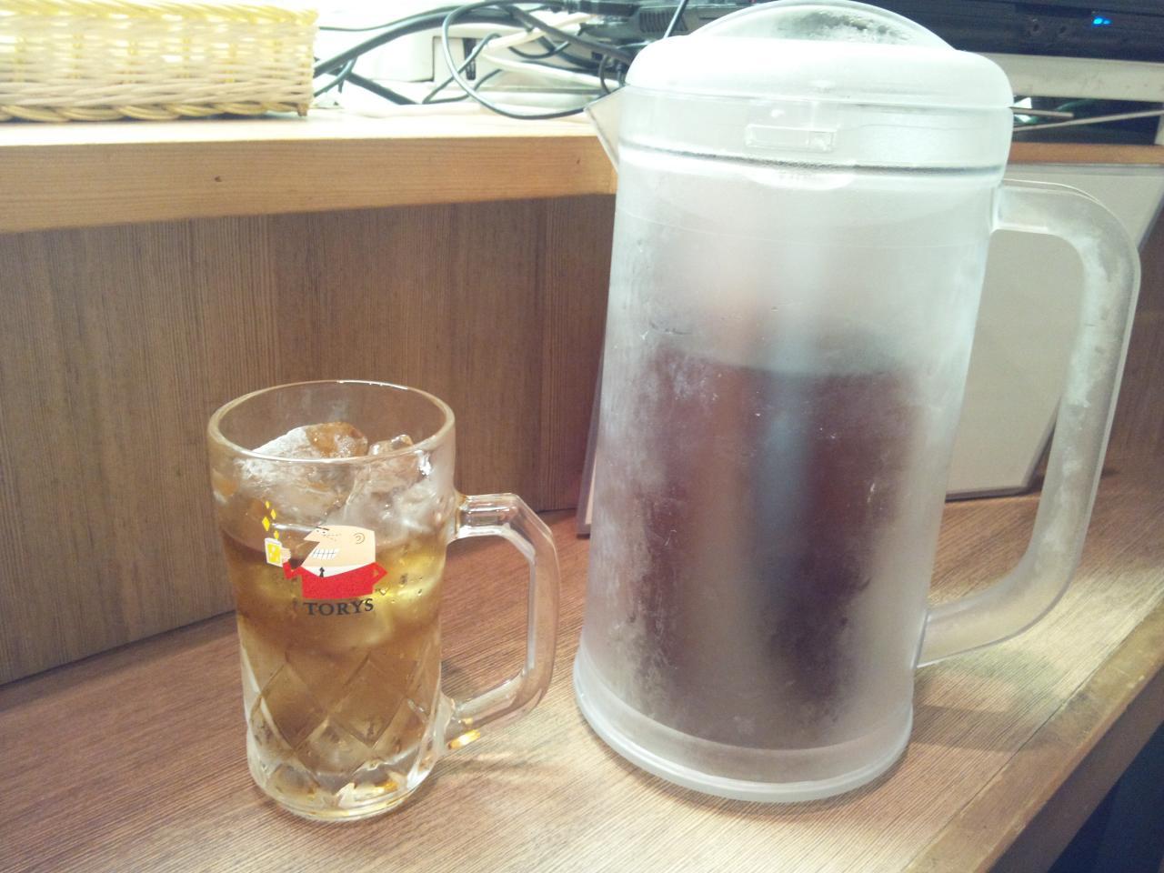 えぞや六角橋店(麦茶)