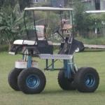 ハイリフトゴルフカー