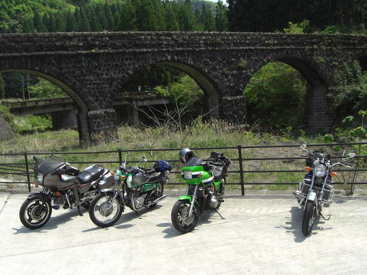 高千穂の手前の橋