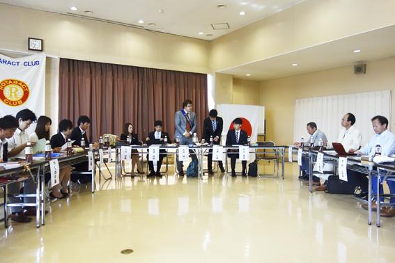2013-2014第1回会長幹事会