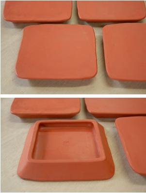 朱泥板皿2