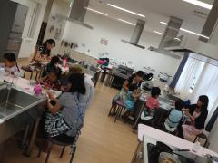 子供料理教室(試食タイム)