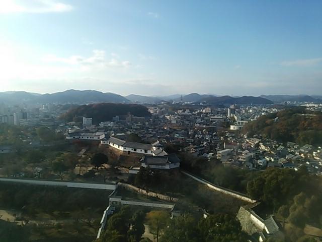 131204 天空の姫路城③