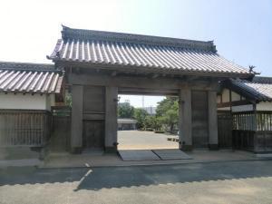 徳島城鷲の門