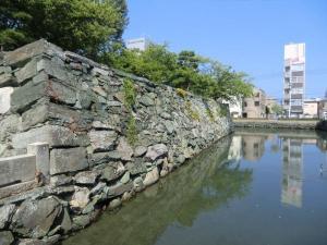徳島城石垣1