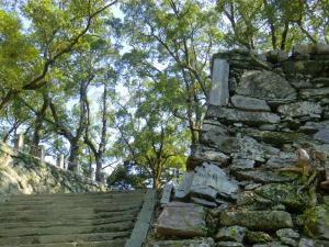 徳島城城山階段