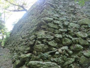 徳島城東二の丸石垣