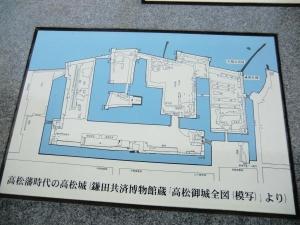 高松城全図