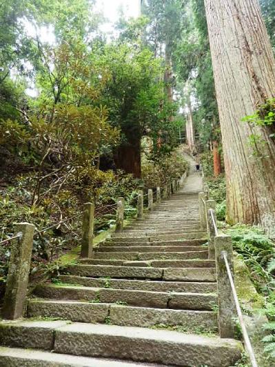 室生寺奥の院へ
