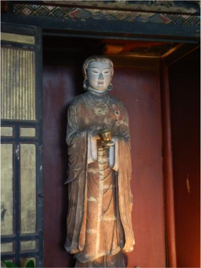 飛鳥寺の聖徳太子像