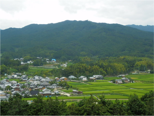甘樫丘から見た風景_1