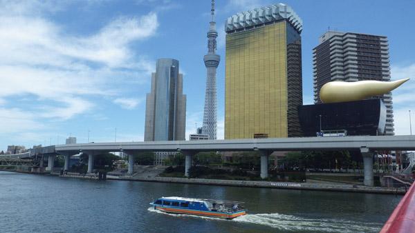 隅田川 吾妻橋から