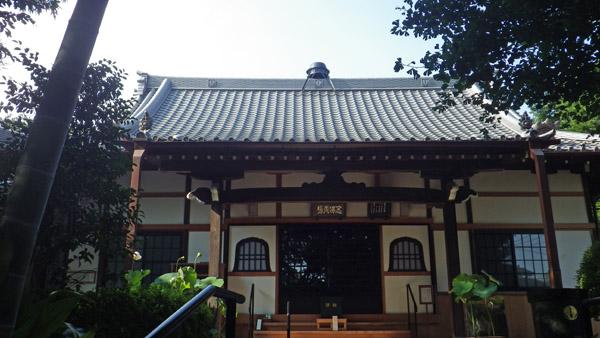 東慶寺 屋根にお釜