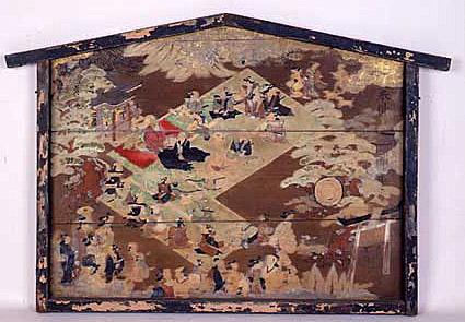 中井御霊神社の備射祭絵馬