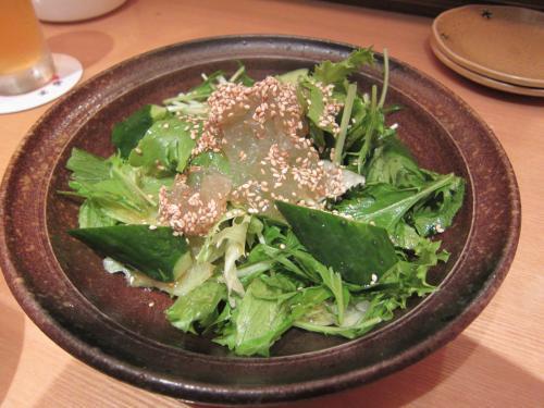 コラーゲンたっぷりグリーンサラダ