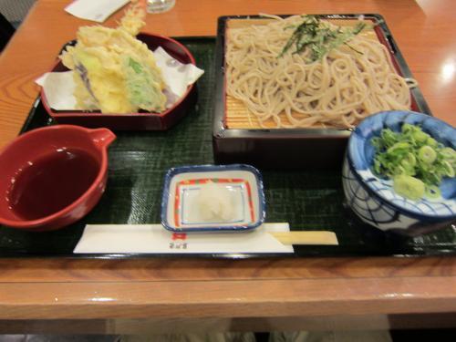 天ざるそば ¥870