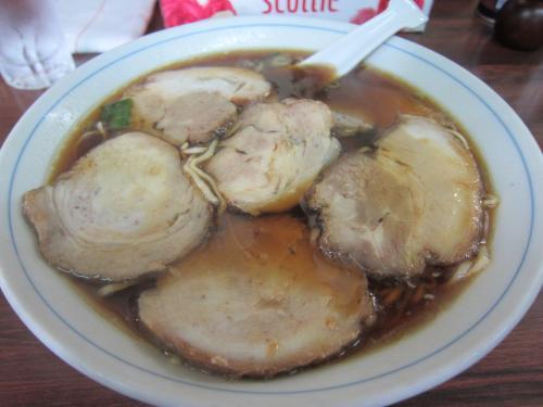 焼豚麺(チャーシュー麺) ¥800