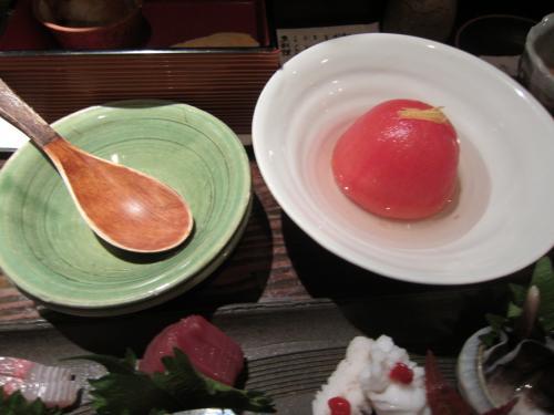 トマトのレモン煮