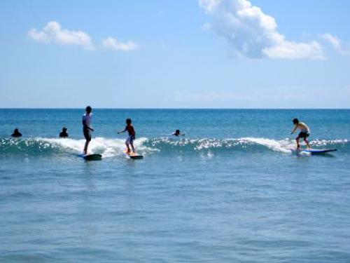 アホ3人の初サーフィン