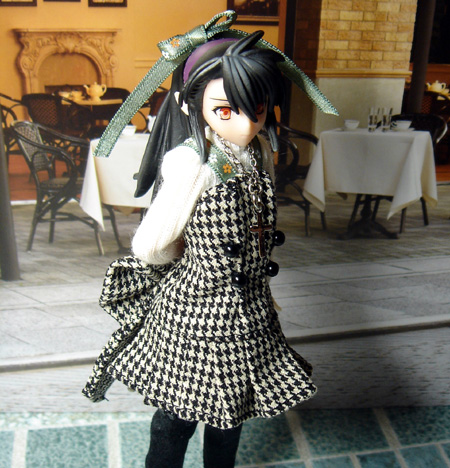 25_10_25_千鳥格子のジャンパースカート