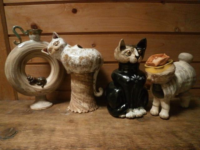 デカ猫たち