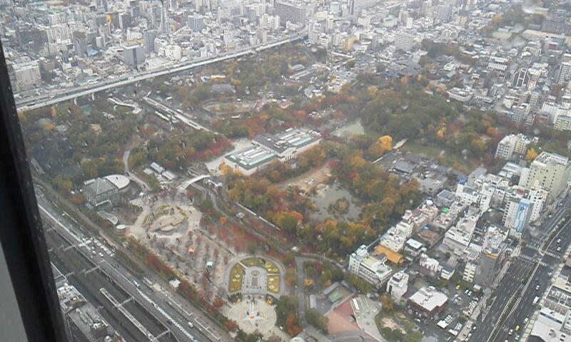 2014ハルカスの景色