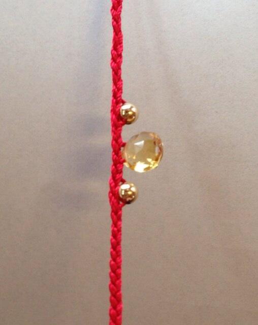 赤い糸ブレス7
