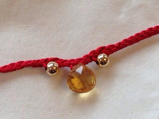 赤い糸ブレス8