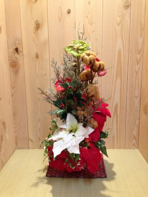 クリスマスアレンジ6 - コピー