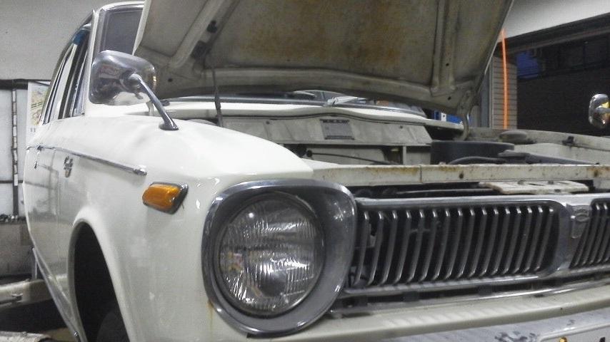 旧車カローラ