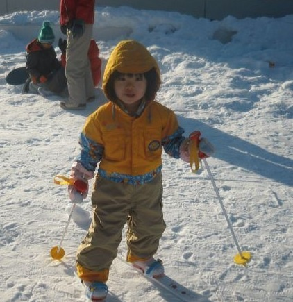 名古屋市学習塾はスキーも頑張る。