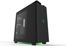 NZXTミドルタワー H440 [ 限定モデル Black&Razer Green ] H440MB-RazerSE
