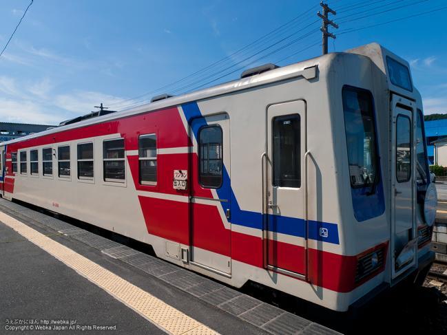 あまちゃんロケで使った三陸鉄道北リアス線の列車(三陸鉄道36-100形気動車)