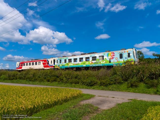 三陸鉄道北リアス線の列車