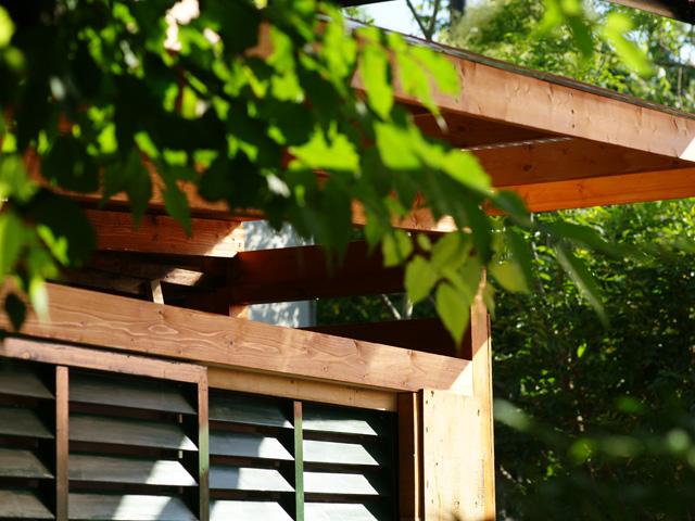 小屋の屋根改修