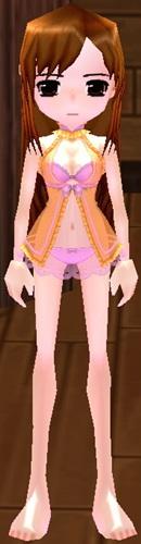 シースルー女性水着 SAO 衣装 3