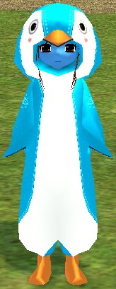 ペンギンローブ 雪の王冠 真っ青 2