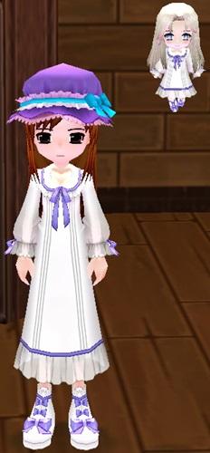 少女の衣装 ベリサ 染色 済み 2