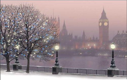 Regent London winter