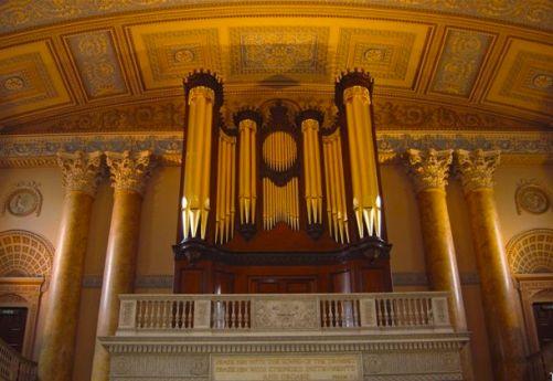 grennwich trinity chapel organ