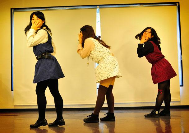 姫神ダンサーズ きゃすけっと:) 麻斗 星華 ゆん助 Girls