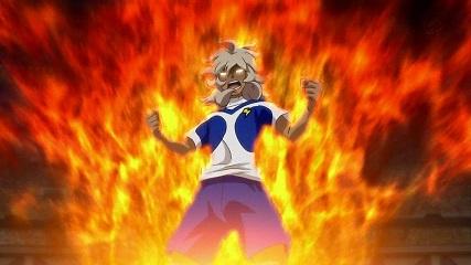 怒りで体が燃える