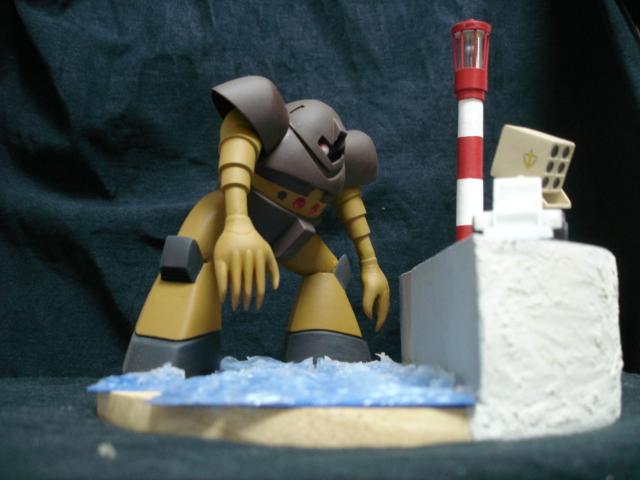 ゴック ジオラマ 001